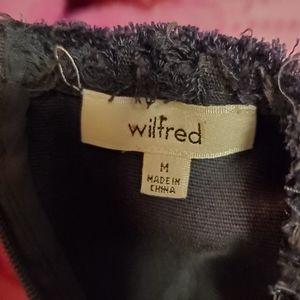 Aritzia Tops - Wilfred Crop Top Zippered M
